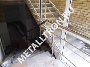 Лестничные ограждения из нержавеющей зеркальной стали