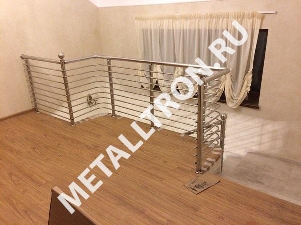 Изготовление и установка лестничных ограждений для частного дома