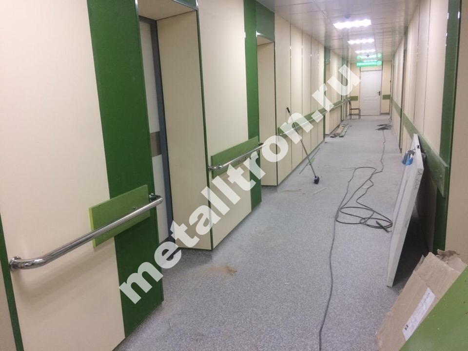Поручни из нержавеющей стали для больницы