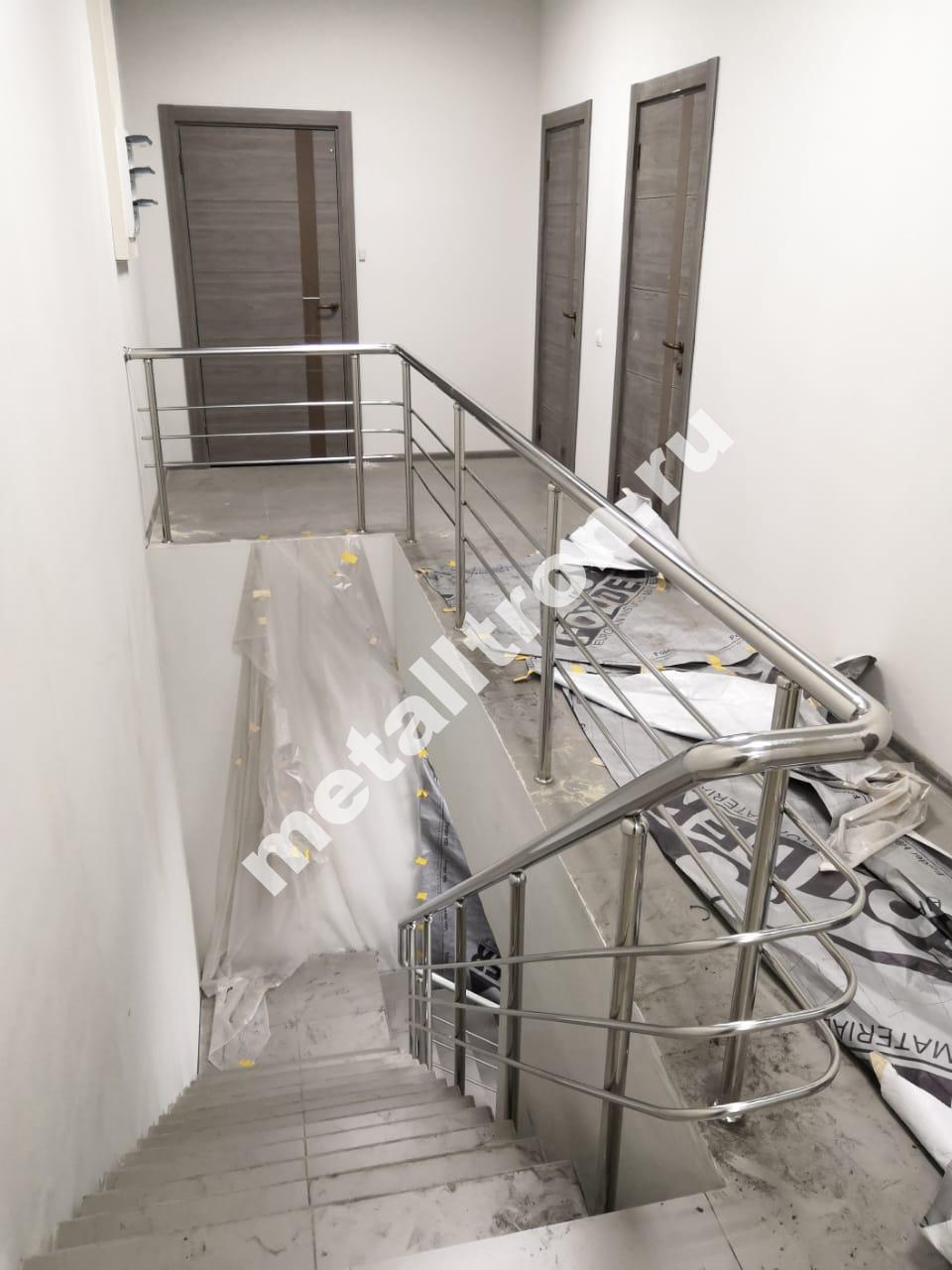 Ограждение для лестницы из нержавеющей стали